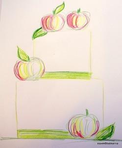 tort z jabłkami