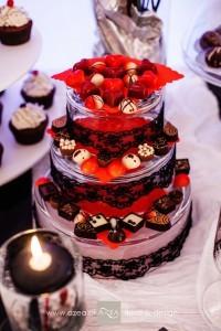 dekoracja-slubna-czarno-czerwona