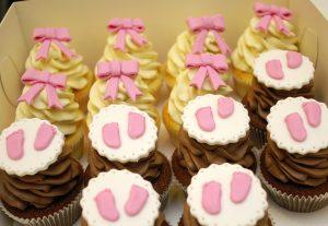 Baby shower,babeczki, cupcakes,, babkarnia